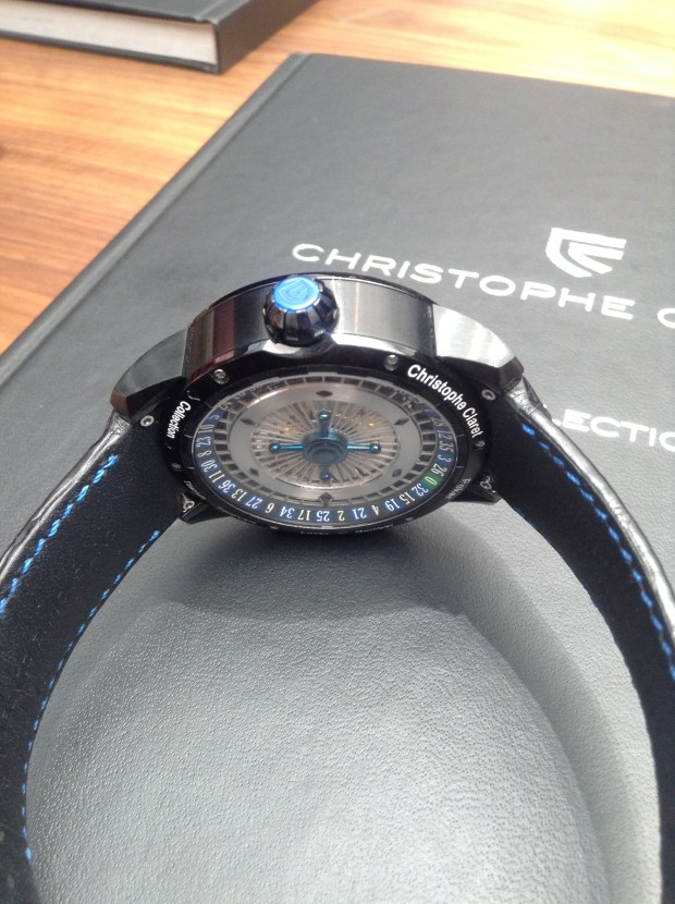 Christophe Claret's Texas Hold'em Poker Watch