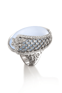 Carrera y Carrera Moonstone Diamond Sierpes Ring | Oster Jewelers