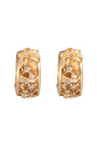 Carrera y Carrera .10ctw Diamond Sierpes Earrings | Oster Jewelers