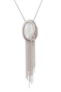Carrera y Carrera Diamond Moonstone Sierpes Necklace | Oster Jewelers