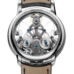 Arnold & Son Time Pyramid Stainless Steel   Oster Jewelers