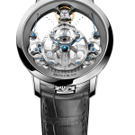 Arnold & Son Time Pyramid Stainless Steel | Oster Jewelers