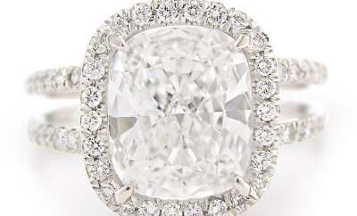 Louis Glick Diamond Ring at Oster Jewelers #mybridalstyle #mydiamondstyle