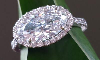 Diamond Engagement Ring Trends at Oster Jewelers #mybridalstyle #mydiamondstyle