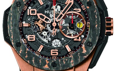 Hublor Big Bang Ferrari Carbon
