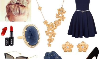 Sapphire Saturday: Gold Flowers & Blue Sapphires | Oster Jewelers Blog