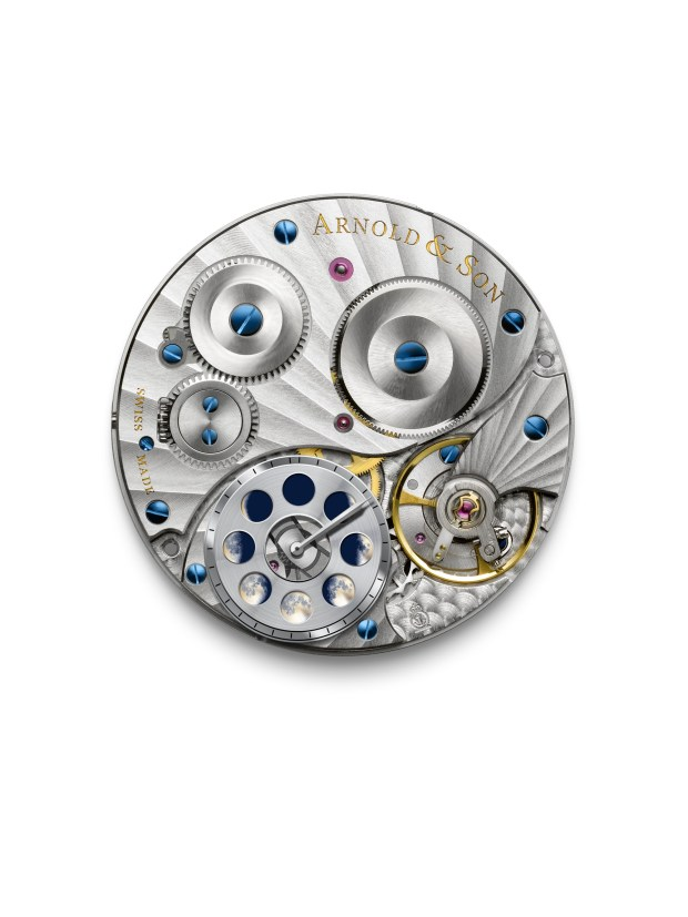 Arnold & Son HM Perpetual Moon RG5N Movement | Oster Jewelers Blog