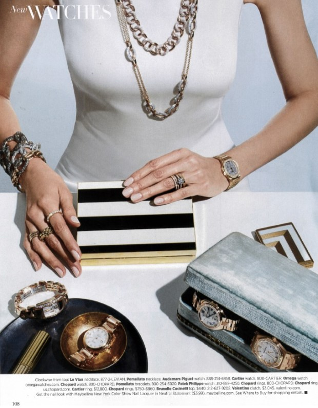 Pomellato in USA Harpers Bazaar- June.July 2015 | Oster Jewelers Blog