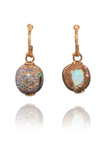 K. Brunini 18KRG Jundah Opal Drop Earrings | Oster Jewelers Blog