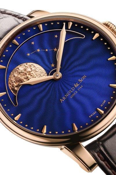 Arnold & Son HM Blue Perpetual Moon | Oster Jewelers Blog