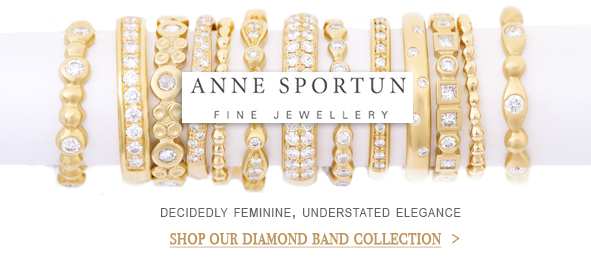 Anne Sportun Wedding Bands at Oster Jewelers