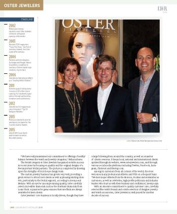 Oster Jewelers in iW Magazine | Oster Jewelers Blog