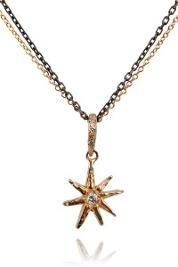Robin Haley Jewelry Star Necklace With Diamond Bale | Oster Jewelers