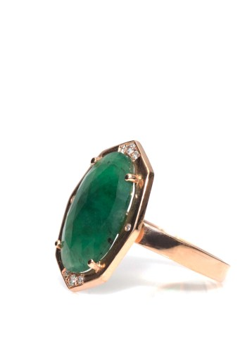 Irthly Emerald Ring