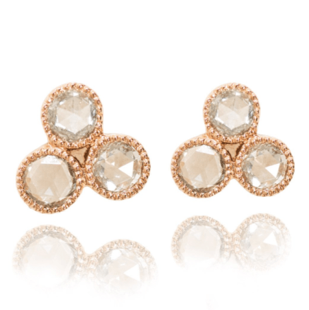 Sethi Couture Diamond Stud Earrings