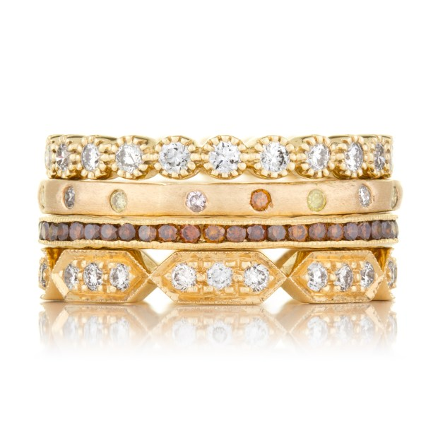 Stack no. 2 by Sethi Couture at Oster Jewelers