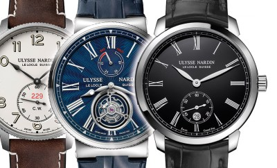 Ulysse Nardin Collection at Oster Jewelers