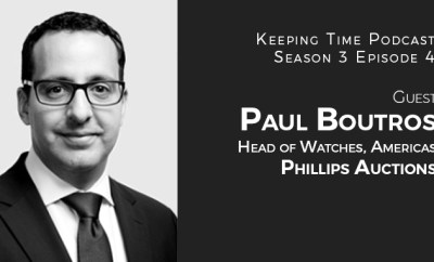 Paul Boutros-Head of the Americas- Phillips Auctions