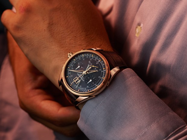 Parmigiani Fleurier Tonda Chronor LE in slate with 18krg