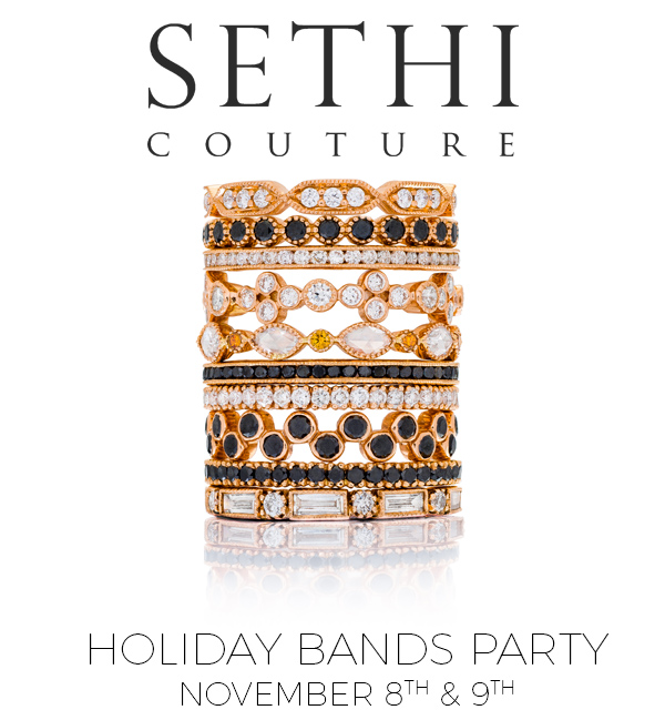 Sethi Couture Holiday Bands Party | Oster Jewelers