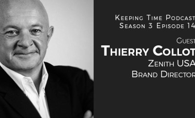 Thierry Collot, Zenith USA Brand Director