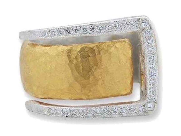 19 Lika Behar Diamond Deco Ring-