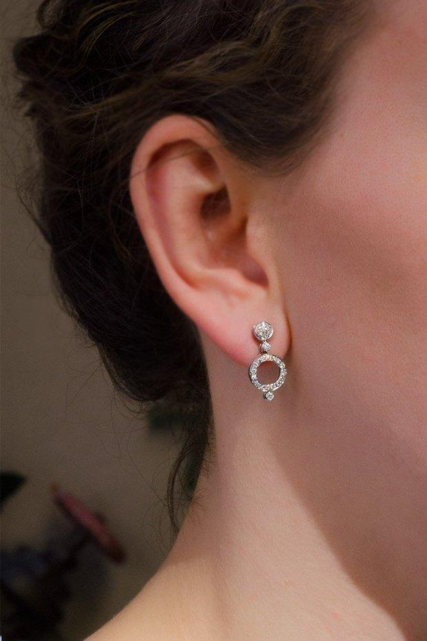 Antonini Alaskan Diamond Earrings