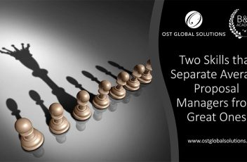 Two Skills that Separate Average Proposal Managers from Great Ones