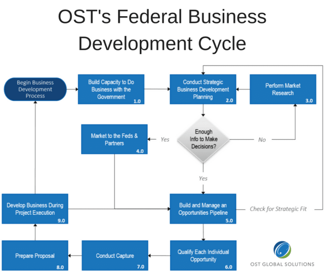 winning federal business development cycle