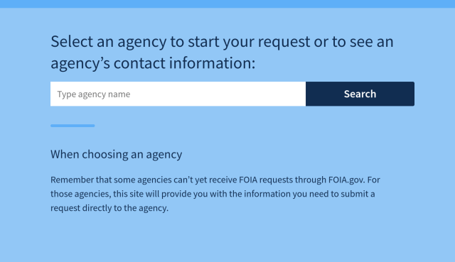 choose_foia_agency