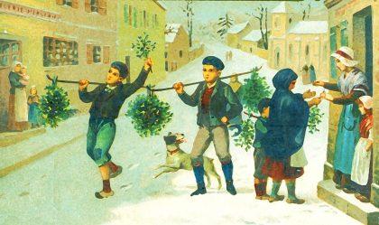 Весёлый Новый Год или Кем пугают детей в канун зимних праздников.