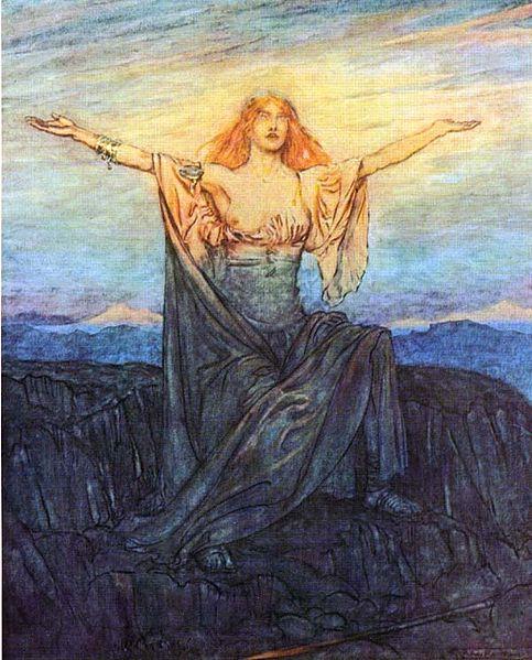 Brünnhilde awakens