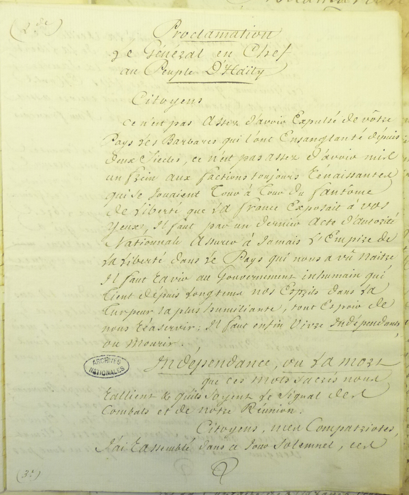 The Many Meanings Of The Haitian Declaration Of