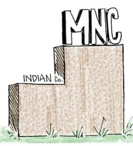 MNC's superior to Indian companies