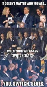 when women speaks even USA president responds