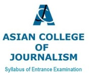 Asian College of Journalism