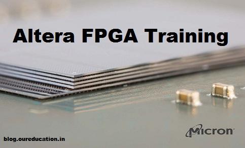 Details on Altera FPGA Training under Embedded Training