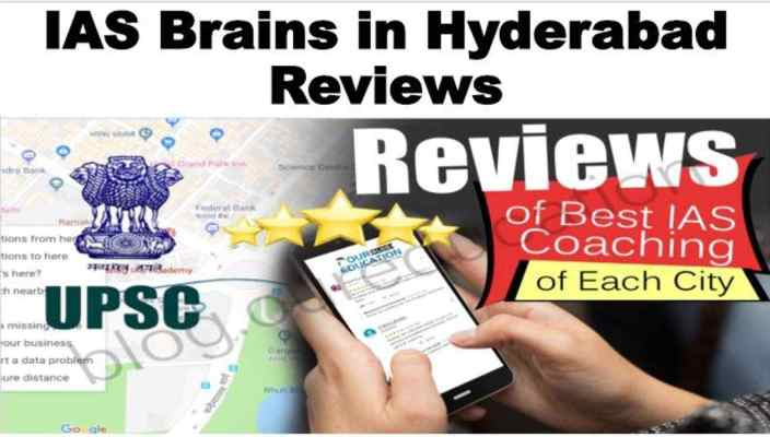 IAS Brains In Hyderabad Reviews