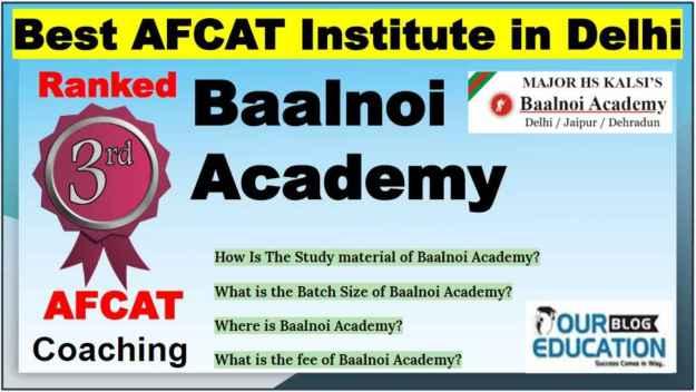Best AFCAT Coaching Institute in Delhi