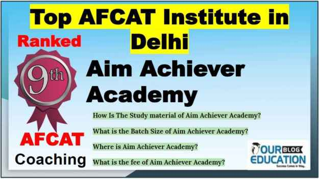 Best Institute for AFCAT in Delhi