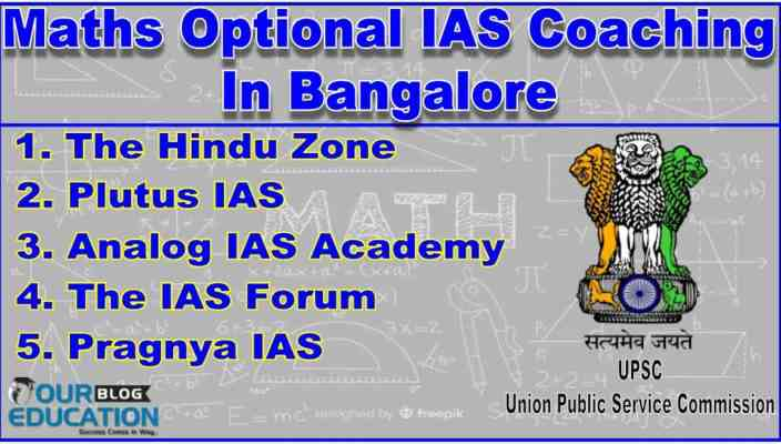 Best Maths Optional IAS Coaching Institutes In Bangalore