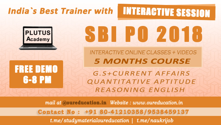 Best SBI PO Coaching Center Jayanagar Bangalore