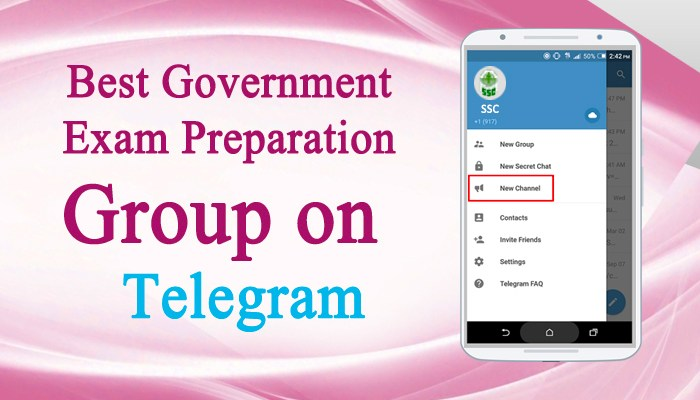 Best Government Exam Preparation Group on Telegram
