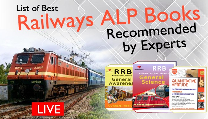 List of Best Railways ALP Books Recommended by Experts