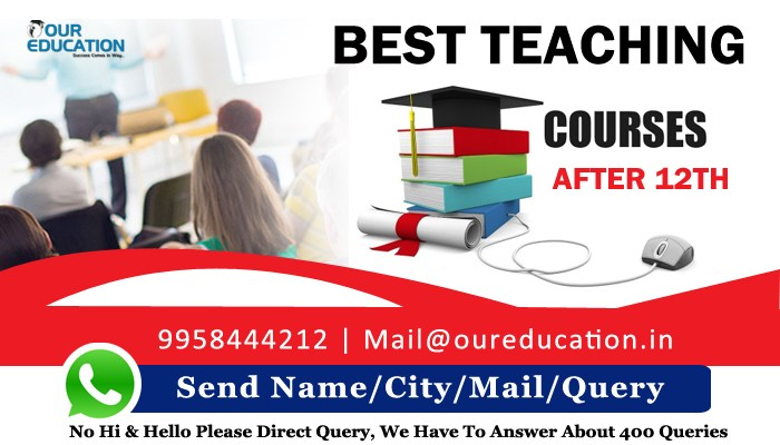 Best Teaching Course After 12th