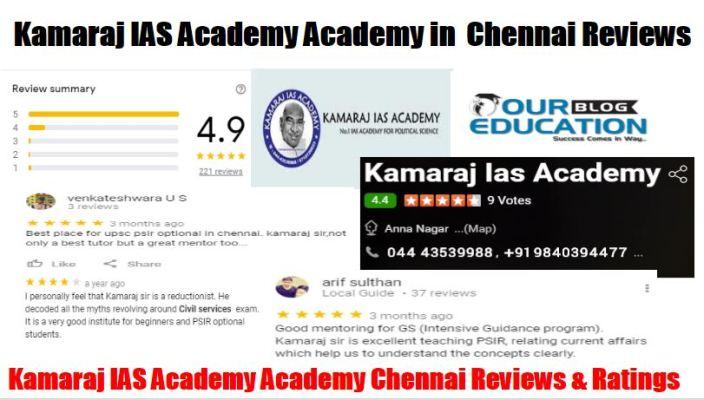 KAMARAJ IAS ACADEMY Chennai Reviews