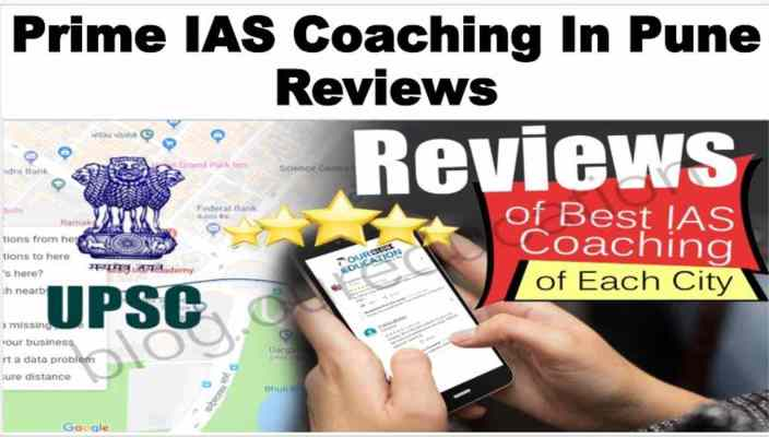 Prime IAS Coaching in Pune Review