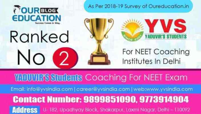 Best 10 Neet Coaching Institutes In Delhi With Contact Details