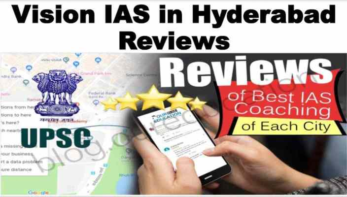 Vision IAS in Hyderabad Reviews