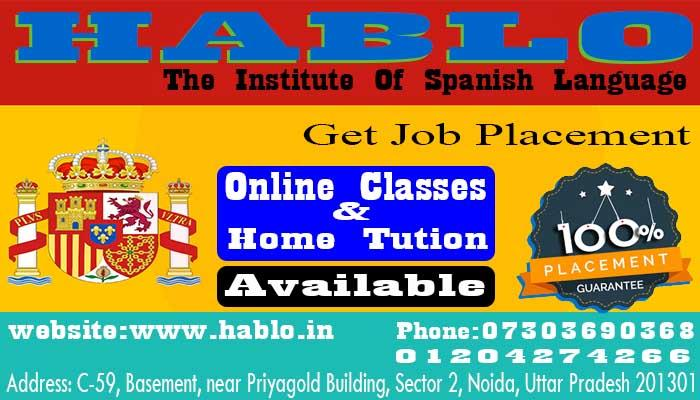 Top Spanish Languages in Noida